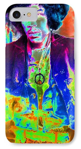 Hendrix Phone Case by David Lee Thompson