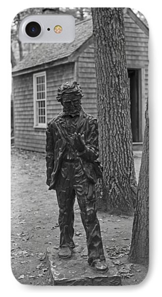 Henry David Thoreau House Walden Pond Concord Ma IPhone Case by Toby McGuire