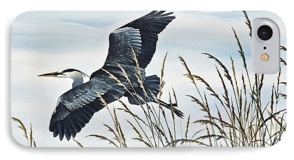 Herons Flight IPhone 7 Case by James Williamson