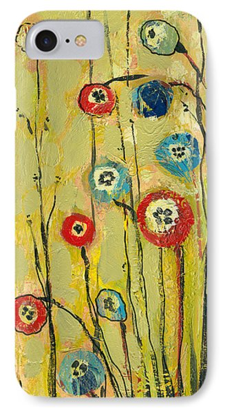 Hidden Poppies IPhone Case by Jennifer Lommers