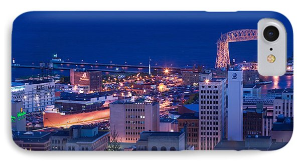 High Angle View Of A City, Canal Park IPhone Case by Panoramic Images