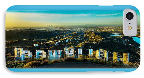 High On Hollywood IPhone Case by Az Jackson