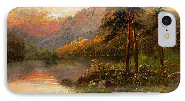 Highland Solitude IPhone Case by Frank Hider