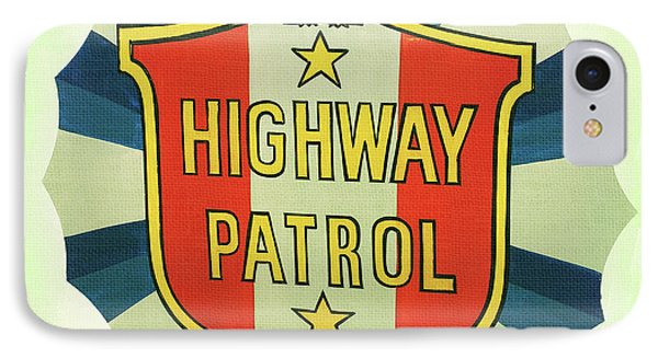 Highway Patrol IPhone Case by Nina Prommer
