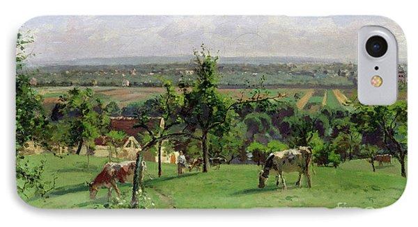 Hillside Of Vesinet IPhone Case by Camille Pissarro