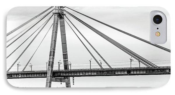 Hockey Under The Bridge IPhone Case by Ant Rozetsky