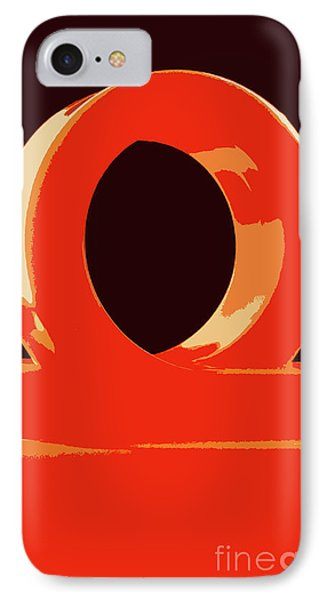 Hole Abstract  3 IPhone Case by Prar Kulasekara