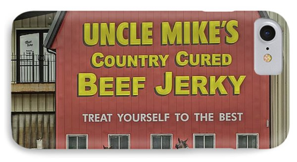 Holmes County Amish Buggies And Beef Jerky IPhone Case by Dan Sproul