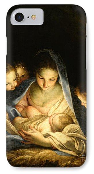 Holy Night IPhone Case by Carlo Maratta
