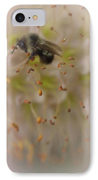 Honey Bee IPhone Case by The Art Of Marilyn Ridoutt-Greene