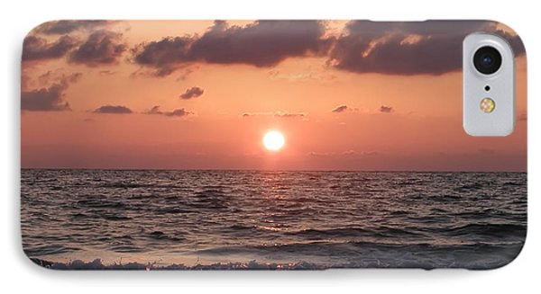 Honey Moon Island Sunset Phone Case by Bill Cannon