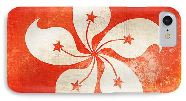 Hong Kong China Flag IPhone Case by Setsiri Silapasuwanchai