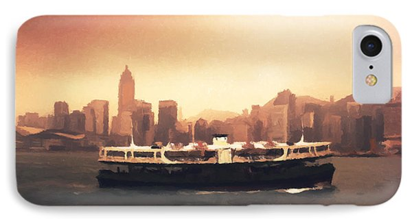 Hong Kong Harbour 01 IPhone Case by Pixel  Chimp