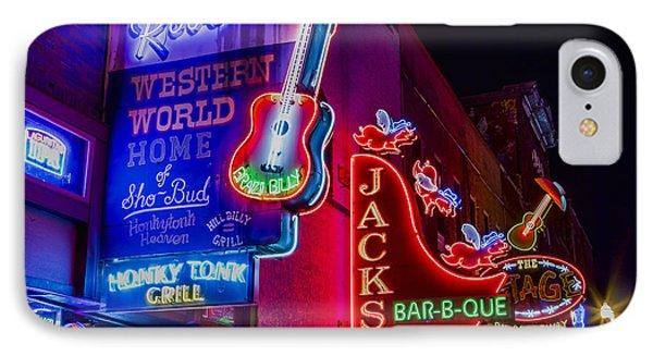Honky Tonk Broadway IPhone 7 Case by Stephen Stookey
