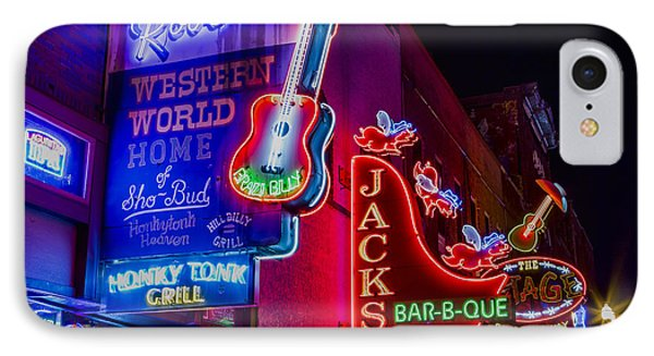 Honky Tonk Broadway IPhone Case by Stephen Stookey