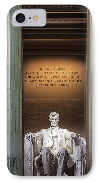 Honored For All Time IPhone Case by Andrew Soundarajan