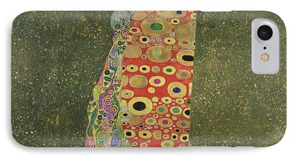 Hope II Phone Case by Gustav Klimt