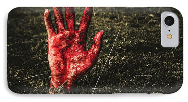 Horror Resurrection IPhone Case by Jorgo Photography - Wall Art Gallery