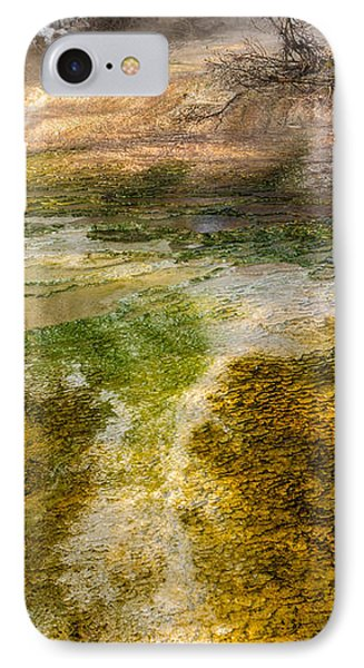 Hot Springs Pool Phone Case by Sue Smith