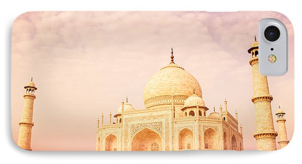 Hot Taj Mahal Phone Case by Nila Newsom
