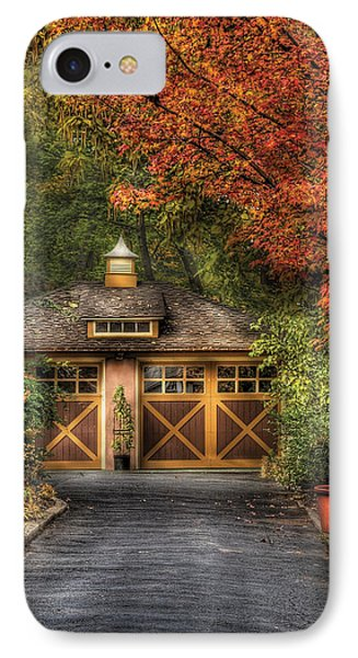 House - Classy Garage Phone Case by Mike Savad