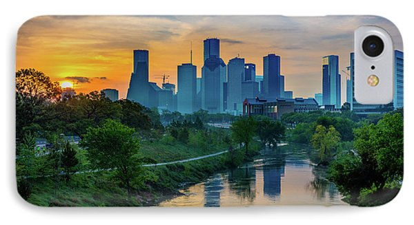 Houston Dawn IPhone Case by Inge Johnsson