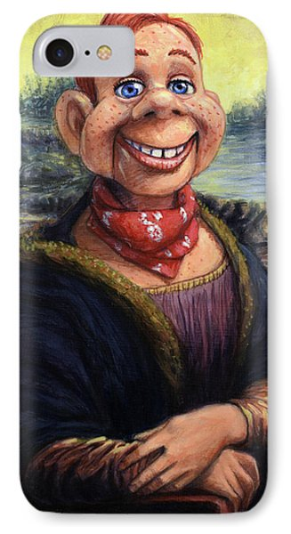 Howdy Doovinci IPhone Case by James W Johnson
