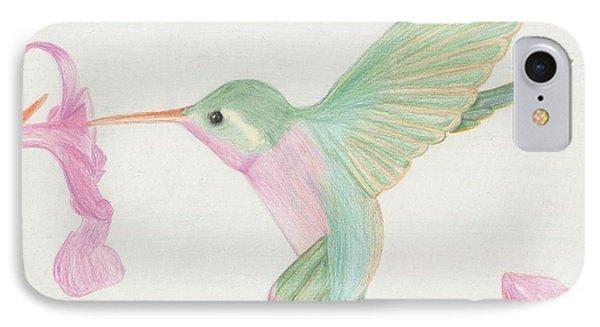 Hummingbird Phone Case by Joanna Aud