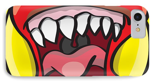Hungry Pacman IPhone Case by Jorgo Photography - Wall Art Gallery