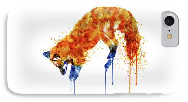 Hunting Fox  IPhone Case by Marian Voicu