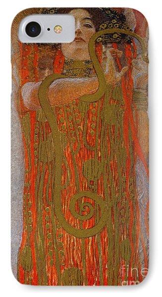 Hygieia IPhone Case by Gustav Klimt