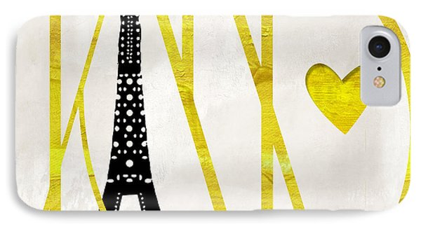 I Love Paris IPhone Case by Mindy Sommers