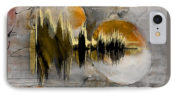 I Love You Sound Wave IPhone Case by Marvin Blaine