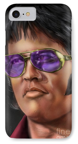 I Remember Elvis Phone Case by Reggie Duffie