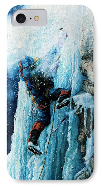 Ice Climb Phone Case by Hanne Lore Koehler