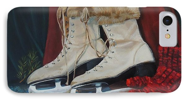 Ice Skates And Mittens Phone Case by Patty Kay Hall