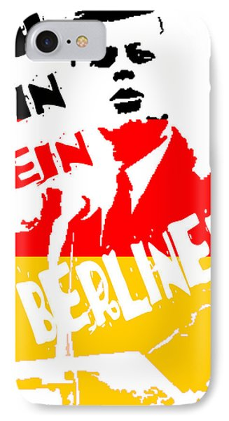 Ich Bin Ein Berliner IPhone Case by Jera Sky