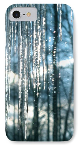 Icicle Art Fun 10 Phone Case by Debra     Vatalaro