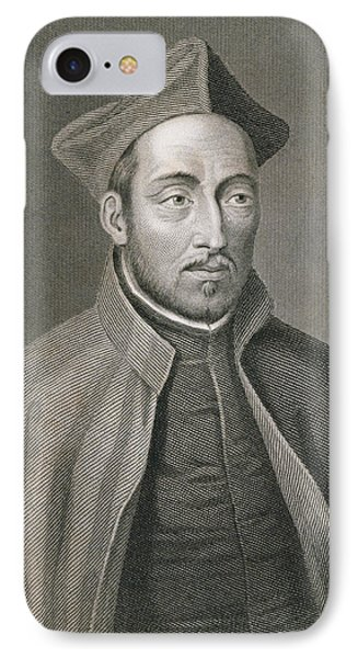 Ignatius Of Loyola IPhone Case by W Holl