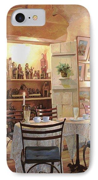 Il Caffe Dell'armadio IPhone Case by Guido Borelli
