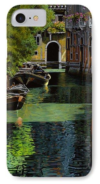 il palo rosso a Venezia Phone Case by Guido Borelli