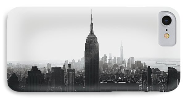 I'll Take Manhattan  IPhone 7 Case by J Montrice