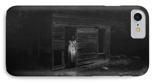 In Fear She Waits IPhone Case by Tom Mc Nemar