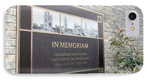 IPhone Case featuring the photograph In Memoriam - Ypres by Travel Pics