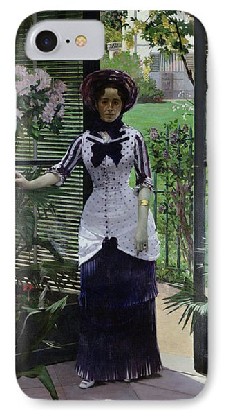 In The Greenhouse Phone Case by Albert Bartholome
