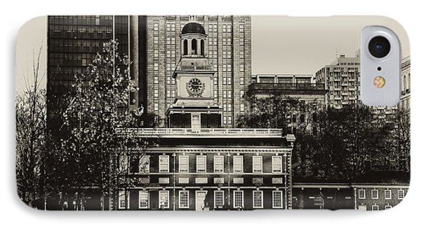Independence Hall Phone Case by Bill Cannon