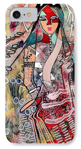 Indian Princess IPhone Case by Amy Sorrell