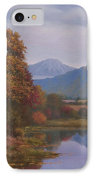 Indian Summer Revisited Phone Case by Sean Conlon