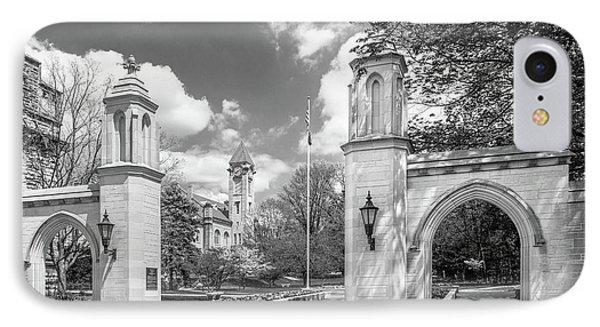 Indiana University Sample Gates Phone Case by University Icons