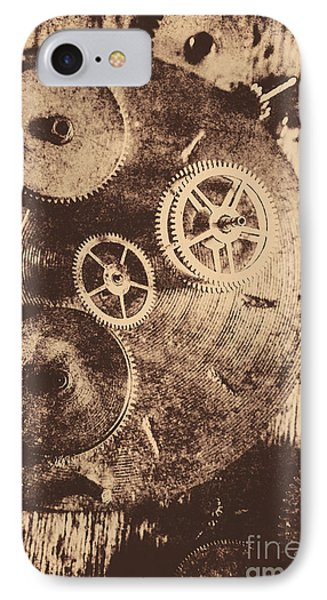 Industrial Gears IPhone Case by Jorgo Photography - Wall Art Gallery